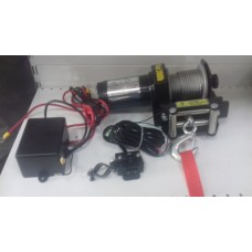 Лебедка ATV Electric Winch 12v, 2000LBS.