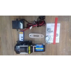 Лебедка ATV Electric Winch 12v, 4000LBS. (синтетический трос)