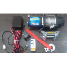 Лебедка ATV  Electric Winch12v, 4500LBS.