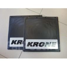 Брызговики светоотражающие прицепа KRONE 400*400 16888