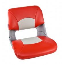 Кресло складное мягкое SKIPPER, цвет серый/красный , артикул  1061018