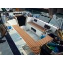 Палубное покрытие EVA 2400x1200mm светло-коричневый