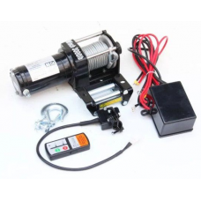 Лебедка ATV  Electric Winch 12v, 3000LBS.