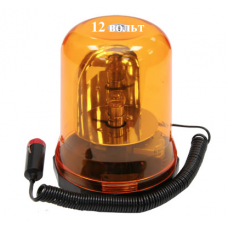 Маяк проблесковый Стакан (12в-желтый-магнит) 7103