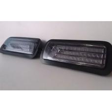 Подфарники светодиодные НИВА 2121,21213,21214 urban стекло Черное-тонированое