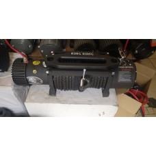 Лебедка автомобильная Electric Winch 12v 12000LBS. СТЕПЕНЬ ЗАЩИТЫ IP 68 (Увеличенная защита двигателя) СИНТЕТИЧЕСКИЙ ТРОС