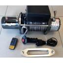 Купить Лебедку автомобильную Electric Winch 12v 12000LBS (синтетический трос)