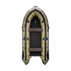 Надувная лодка ПВХ, APACHE 3700 НДНД, камуфляж камыш