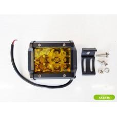 Фара светодиодная 36W LBS865 (желтый свет)