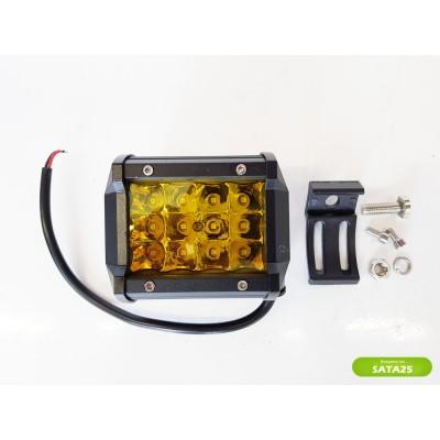 Фара светодиодная LBS865 36W (желтый свет)
