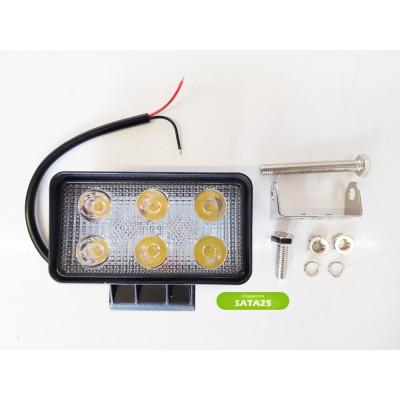 Фара светодиодная 18W X006