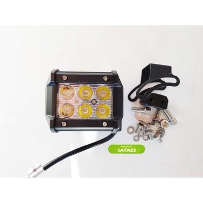 Фара светодиодная 18W  СН019В